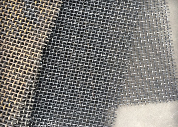 Custom 304 Stainless Steel Crimped Wire Mesh For Filter Application , 30m Length